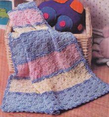 Вязаное одеяло для новорожденного своими руками спицами фото 312