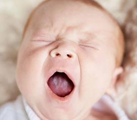 Молочница у ребёнка до года