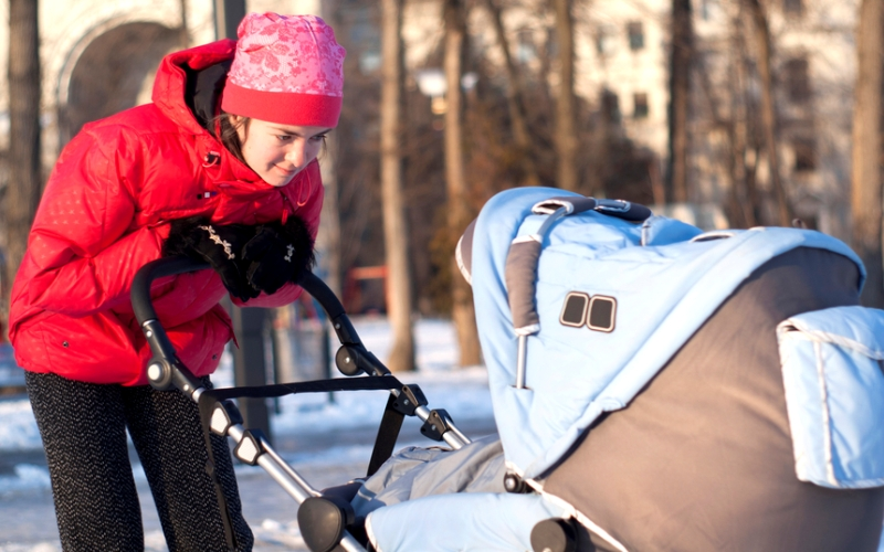 Готовимся к прогулке с малышом в зимний период